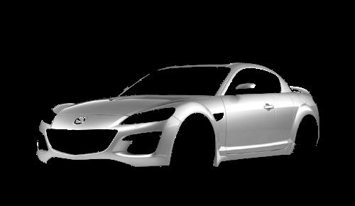 Цвета кузова RX-8